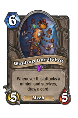 Wind-up Burglebot