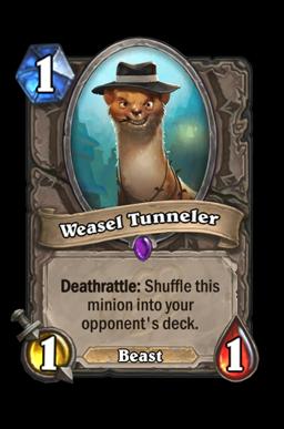 Weasel Tunneler