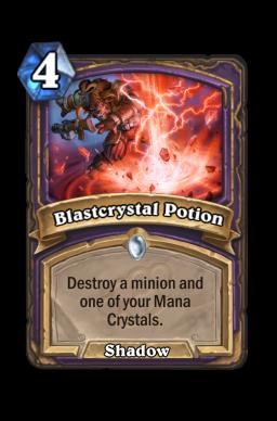 Blastcrystal Potion