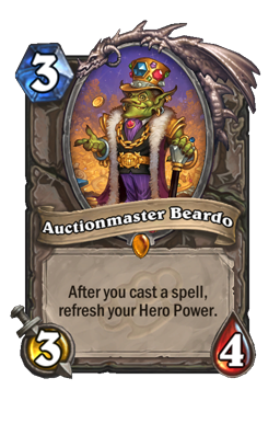 Auctionmaster Beardo