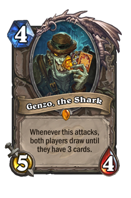 Genzo, the Shark