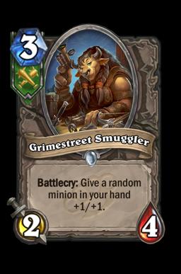 Grimestreet Smuggler