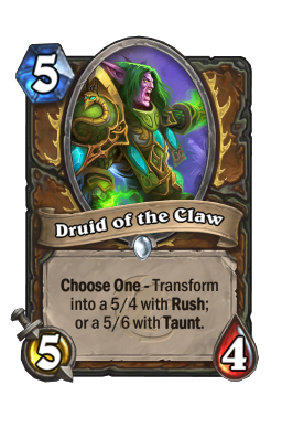 Druid of the Claw