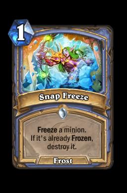 Snap Freeze