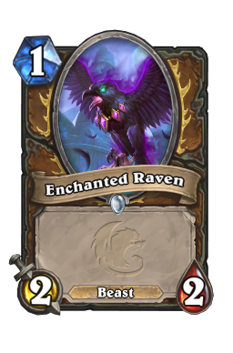 Enchanted Raven