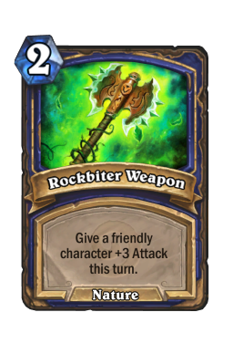 Rockbiter Weapon