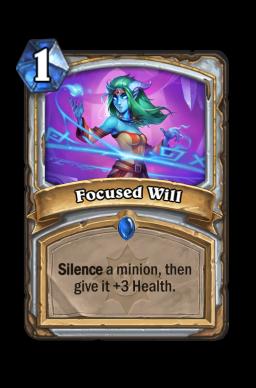 Focused Will