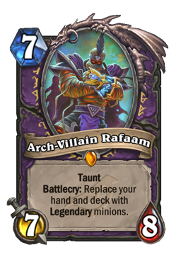 Arch-Villain Rafaam