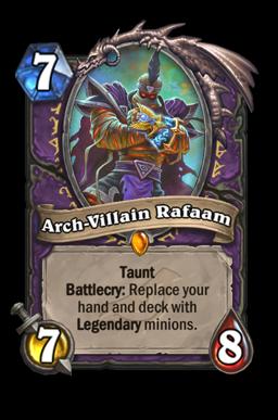 Arch-Villain Rafaam