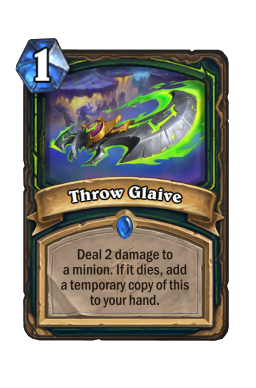 Throw Glaive