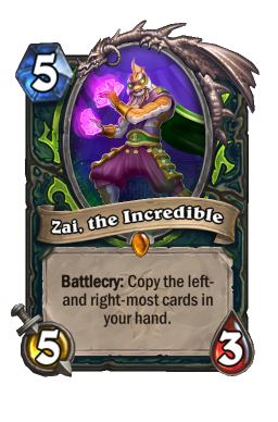 Zai, the Incredible