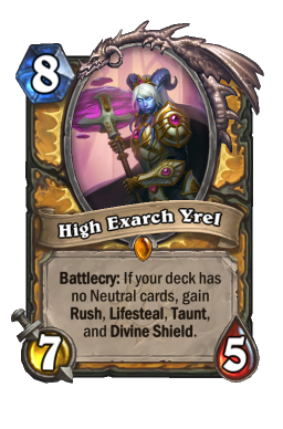 High Exarch Yrel
