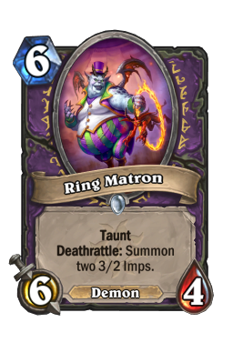 Ring Matron