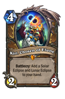 Kiri, Chosen of Elune