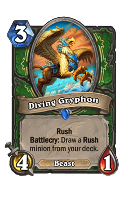 Diving Gryphon