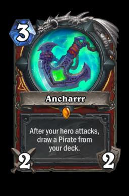 Ancharrr Hearthstone kártya