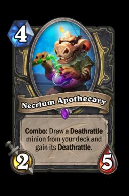 Necrium Apothecary Hearthstone kártya