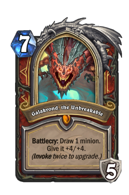 Galakrond, the Unbreakable