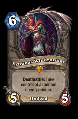 sylvanas legendary kártya disenchant Naxxramas Hearthstone