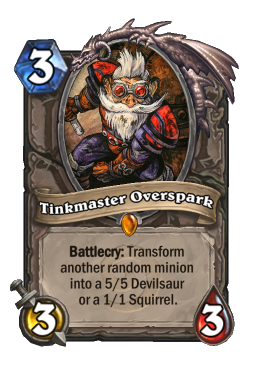 tinkmaster legendary kártya disenchant Naxxramas Hearthstone