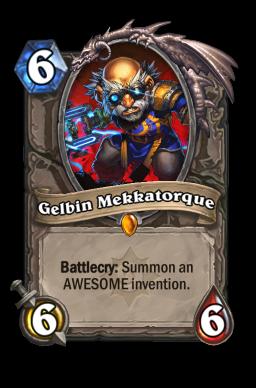gelbin legendary kártya disenchant Naxxramas Hearthstone