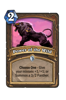 Power of the Wild