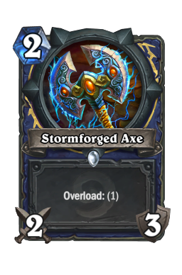 Stormforged Axe