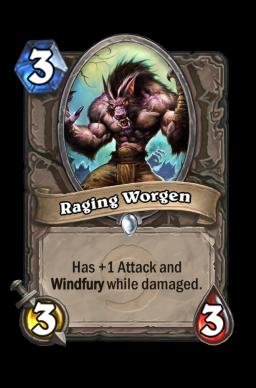 Raging Worgen
