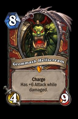 grommash legendary kártya disenchant Naxxramas Hearthstone