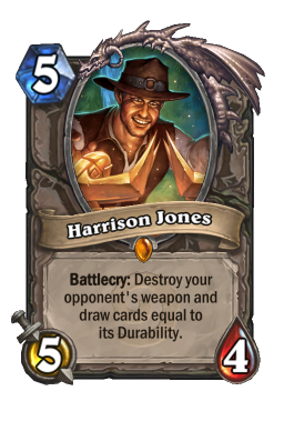harrison legendary kártya disenchant Naxxramas Hearthstone