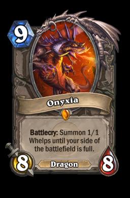 onyxia legendary kártya disenchant Naxxramas Hearthstone