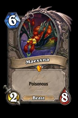 maexxna legendary kártya disenchant Naxxramas Hearthstone
