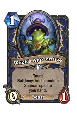 Witch's Apprentice