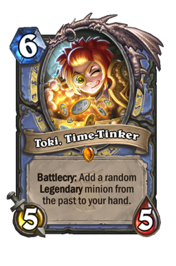 Toki, Time-Tinker