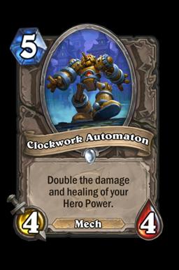 Clockwork Automaton