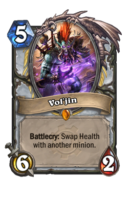 voljin legendary kártya disenchant Naxxramas Hearthstone