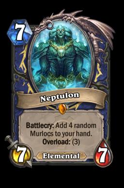 neptulon legendary kártya disenchant Naxxramas Hearthstone