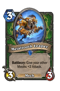 Metaltooth Leaper