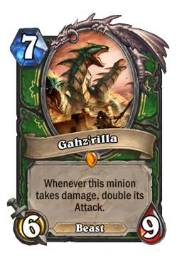 godzilla legendary kártya disenchant Naxxramas Hearthstone