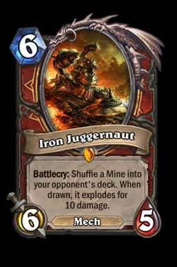 ironjugger legendary kártya disenchant Naxxramas Hearthstone