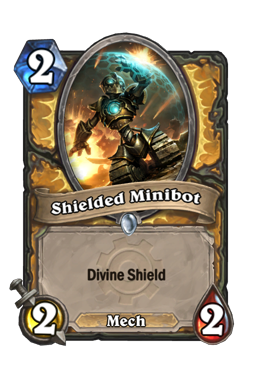 Shielded Minibot