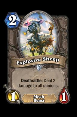 Explosive Sheep