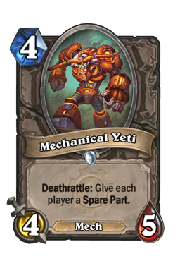 Mechanical Yeti
