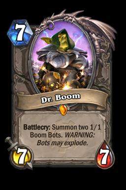boom legendary kártya disenchant Naxxramas Hearthstone