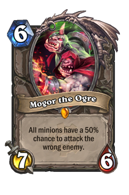 Mogor legendary kártya disenchant Naxxramas Hearthstone