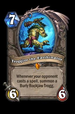 Troggzor legendary kártya disenchant Naxxramas Hearthstone