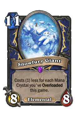Snowfury Giant
