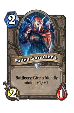 Fallen Sun Cleric