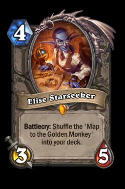 elise legendary kártya disenchant Naxxramas Hearthstone