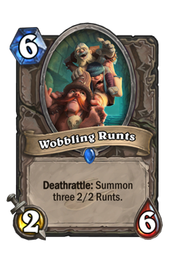 Wobbling Runts